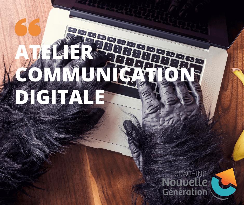 atelier communication digitale, communication digitale, création de contenus, référencement, facebook, google my business